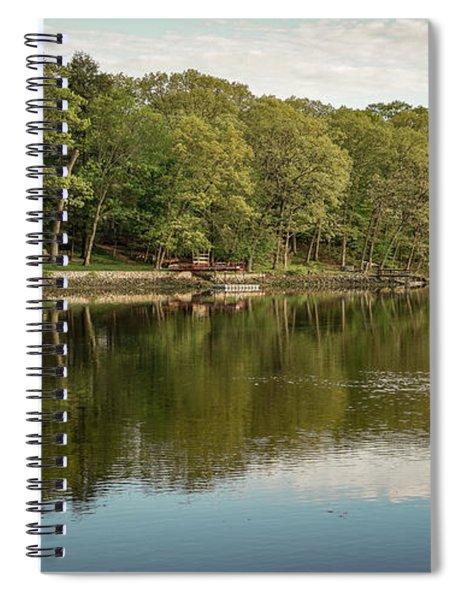 Saugatuck River - Westport By Mike-hope Spiral Notebook
