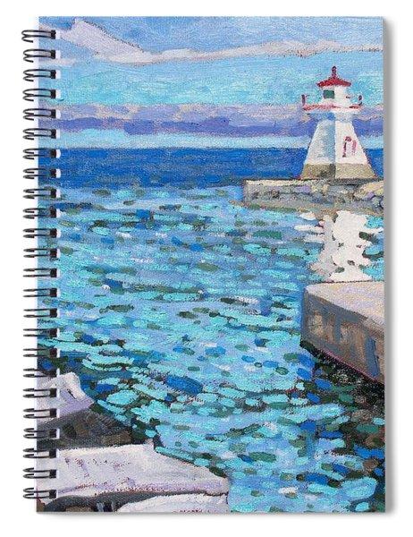 Saugeen Range Light Spiral Notebook
