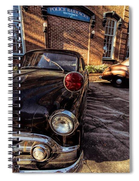 Savannah Antique Police Car Spiral Notebook