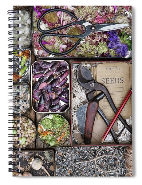 Saving Seeds Spiral Notebook