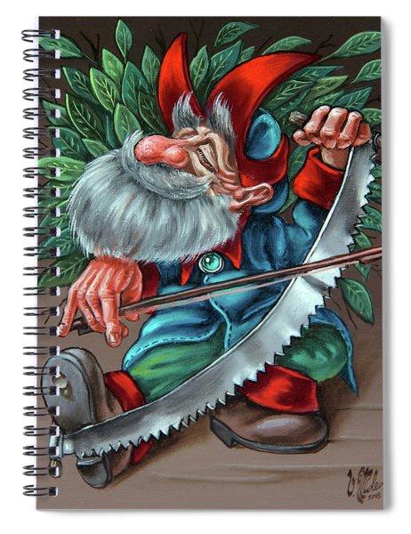 Saw Spiral Notebook