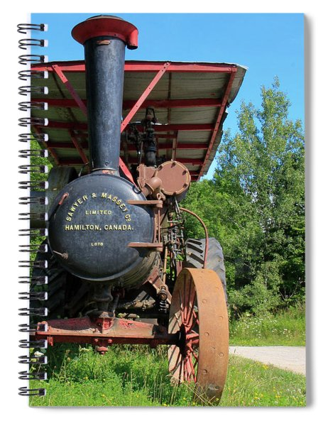 Sawer And Massey Company Spiral Notebook