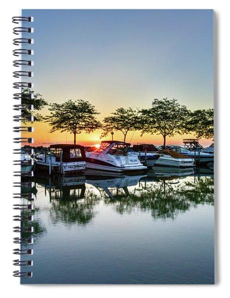 Sawmill Creek Morning Spiral Notebook