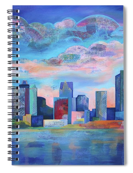 Say Nice Things About Detroit Spiral Notebook