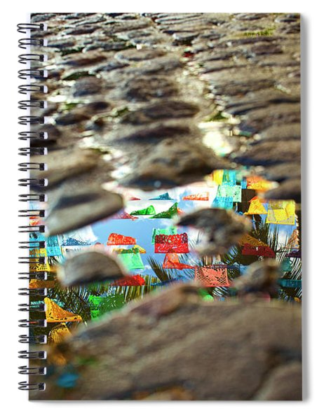 Sayu Flags Spiral Notebook