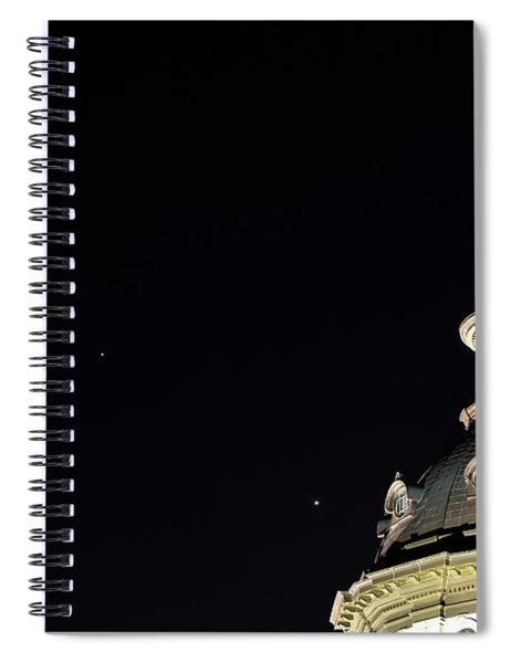 Sc State House Dome And Conjunction Spiral Notebook