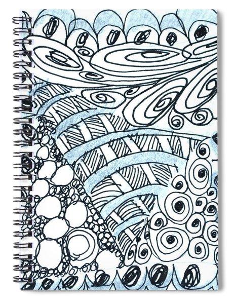 Scallops Spiral Notebook