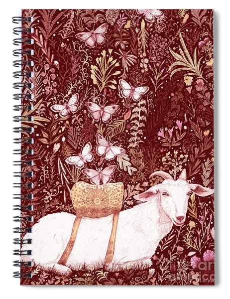 Scapegoat Healing Tapestry Print Spiral Notebook