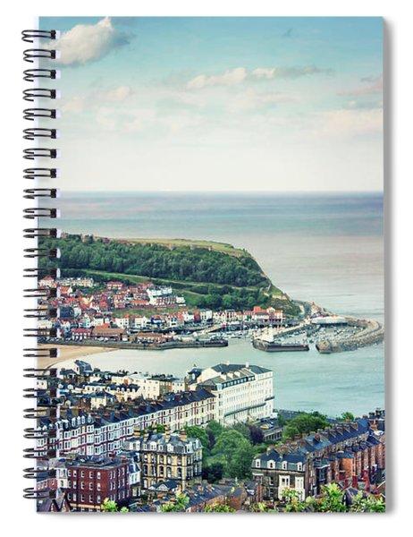 Scarborough Days Spiral Notebook