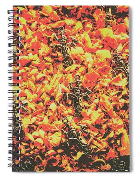 Scarecrows From Fires Burn  Spiral Notebook