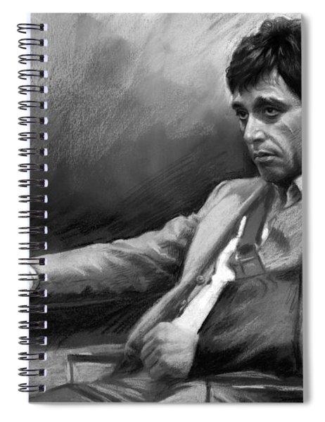 Scarface 2 Spiral Notebook
