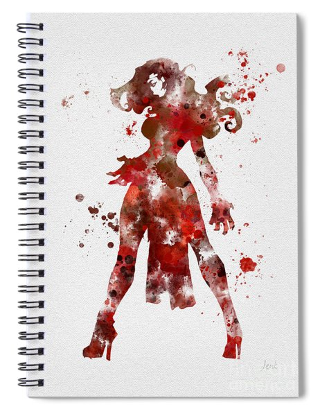 Scarlet Witch Spiral Notebook