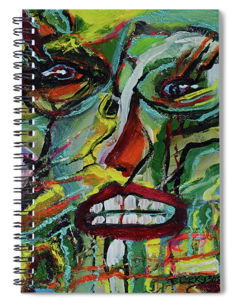 Scars Of Survival Spiral Notebook