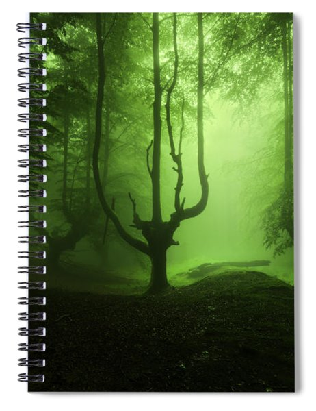 The Funeral Of Trees Spiral Notebook