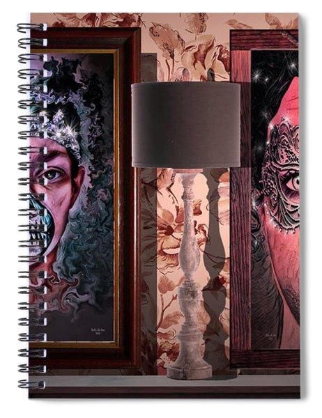 Scary Museum Wallart Spiral Notebook