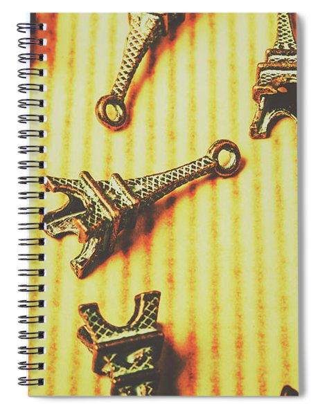 Scatterings From The City Of Romance Spiral Notebook