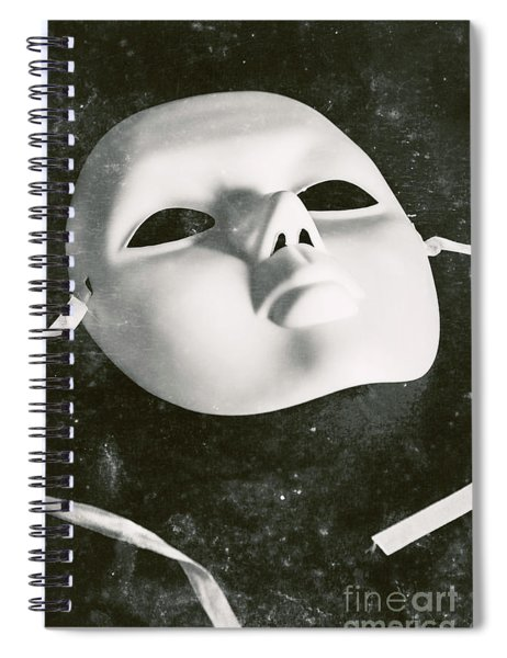 Scene Of Old Theatre Spiral Notebook
