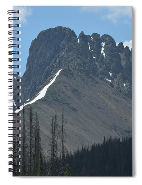 Mountain Scenery Hwy 14 Co Spiral Notebook