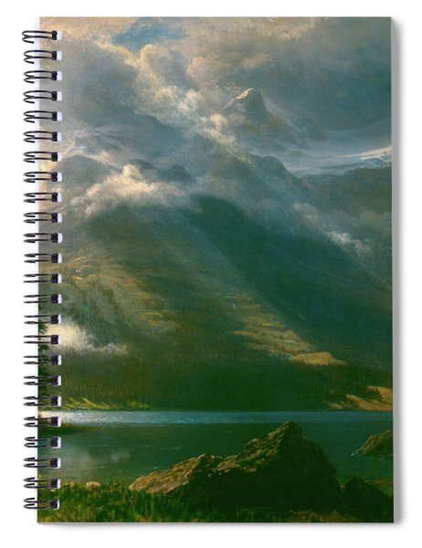 Scenery In The Grand Tetons Spiral Notebook