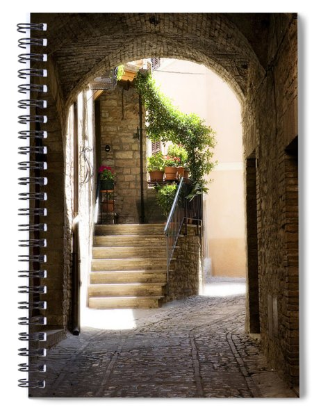 Scenic Archway Spiral Notebook