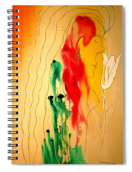 Scent Of An Orchid Spiral Notebook