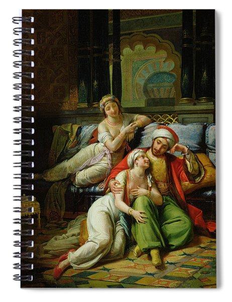 Scheherazade Spiral Notebook