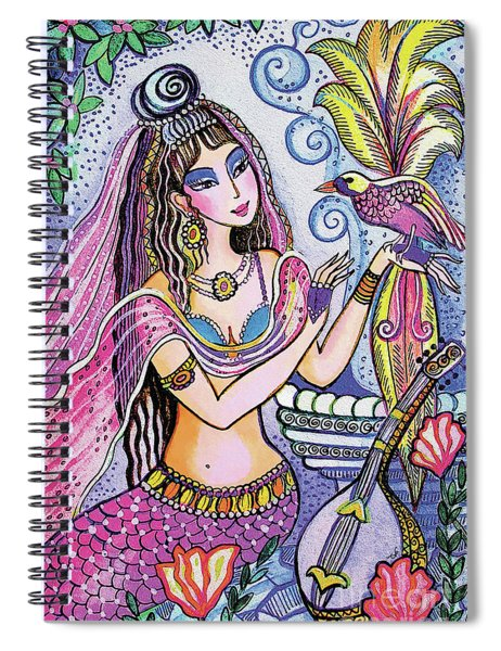 Scheherazade's Bird Spiral Notebook