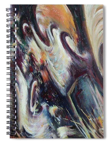Scherzo II Spiral Notebook