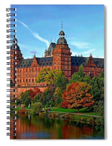 Schloss Johannisburg Spiral Notebook
