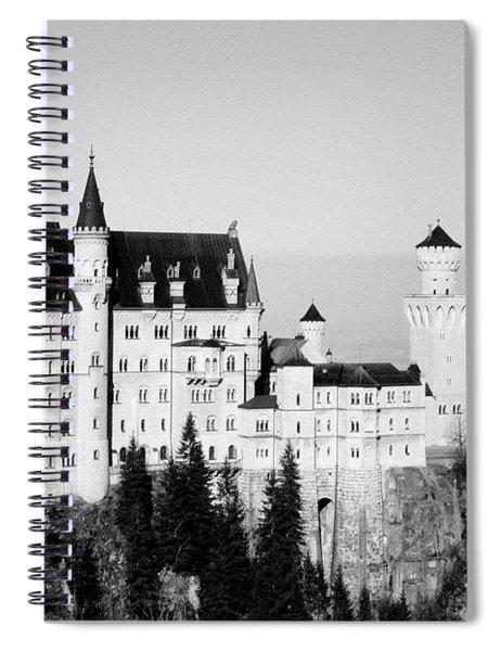 Schloss Neuschwanstein  Spiral Notebook