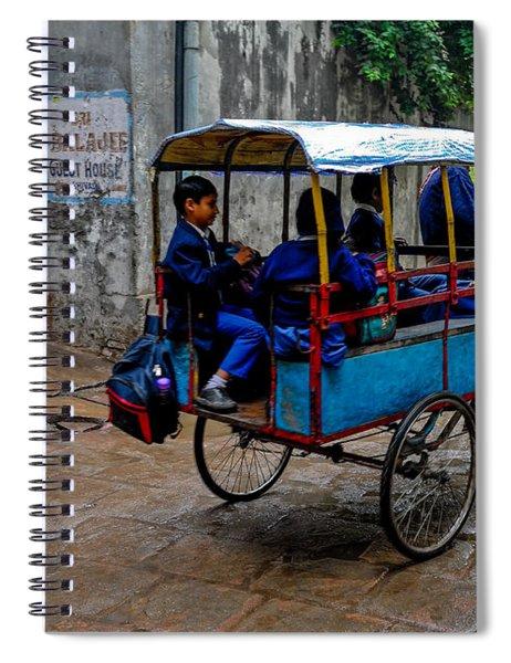 School Cart Spiral Notebook
