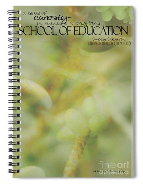 School Of Curiosity 01 Spiral Notebook