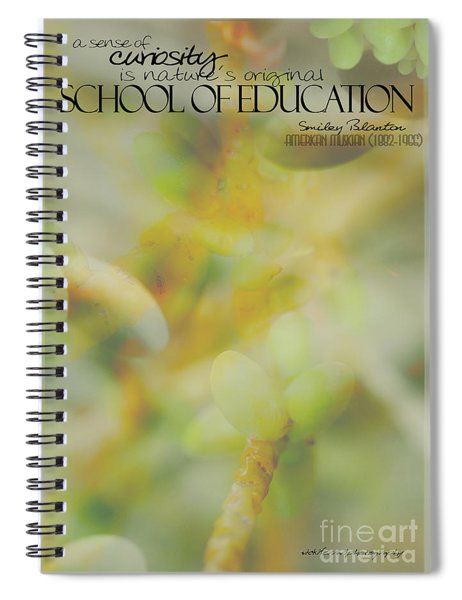 School Of Curiosity 03 Spiral Notebook