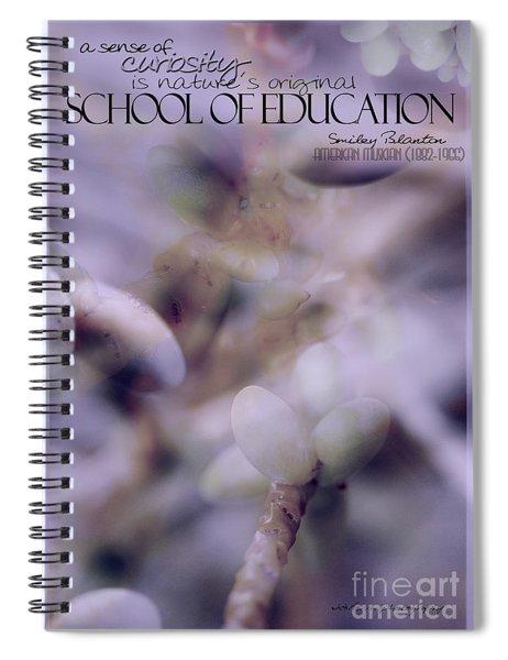 School Of Curiosity 07 Spiral Notebook