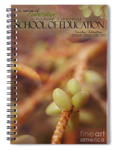 School Of Curiosity 08 Spiral Notebook