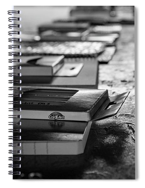 School Supplies Prize Table Spiral Notebook