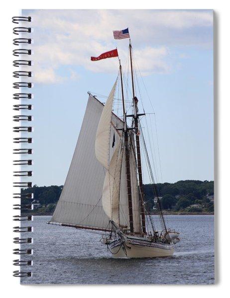 Schooner Heritage Spiral Notebook