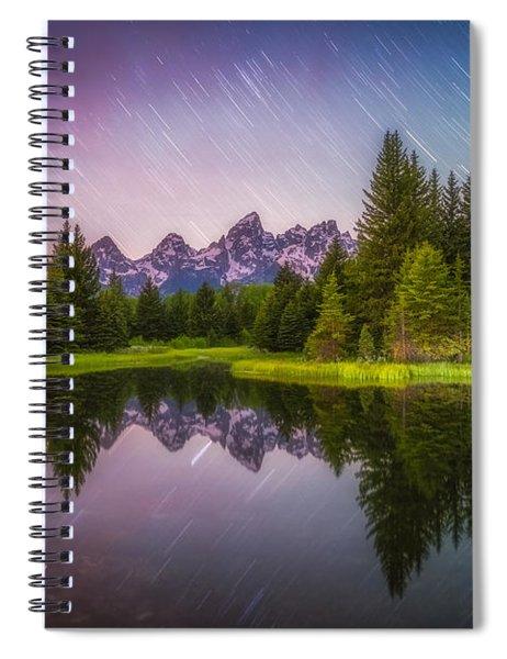 Schwabacher Stars Spiral Notebook