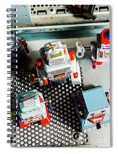 Science Of Automation Spiral Notebook