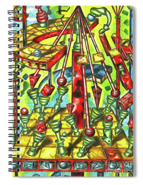 Science Of Chess Spiral Notebook