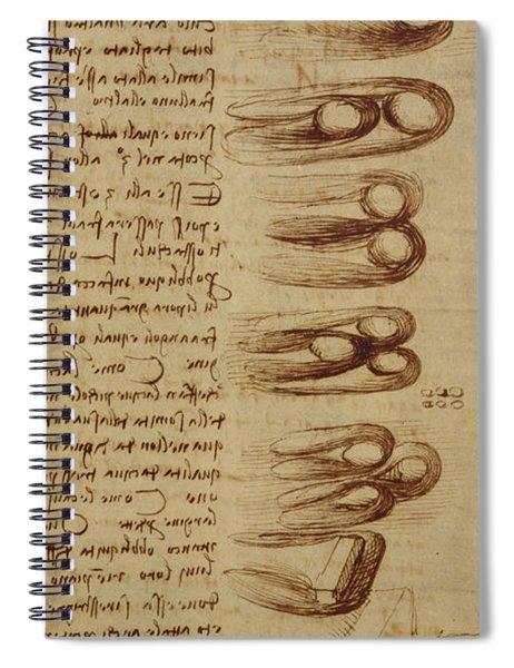 Scientific Diagrams Spiral Notebook