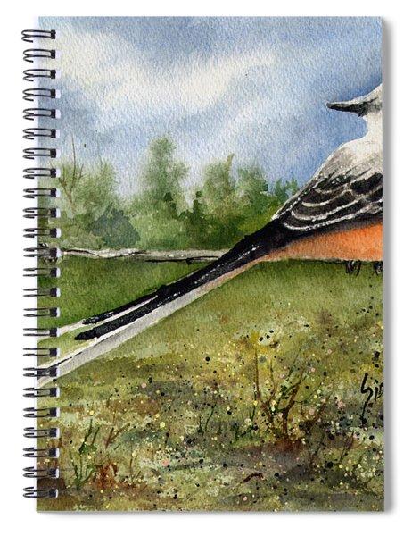 Scissor-tail Flycatcher Spiral Notebook