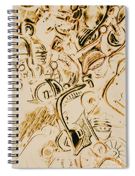 Scooter Avenue Spiral Notebook