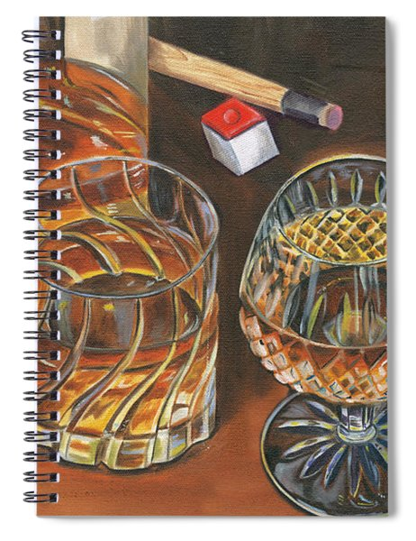 Scotch Cigars And Poll Spiral Notebook