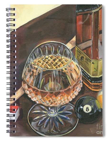 Scotch Cigars And Pool Spiral Notebook
