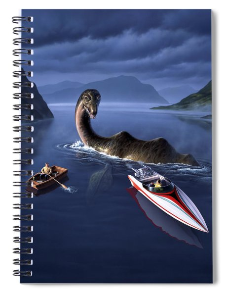 Scottish Cuisine Spiral Notebook