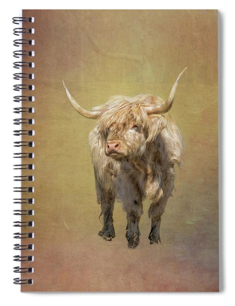 Scottish Highlander Spiral Notebook