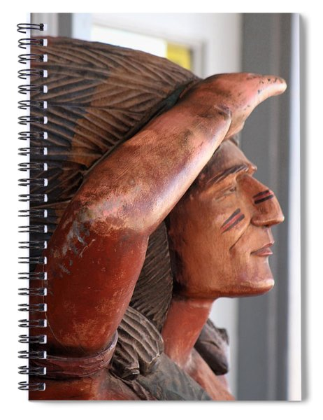 Scout - Close Up Spiral Notebook