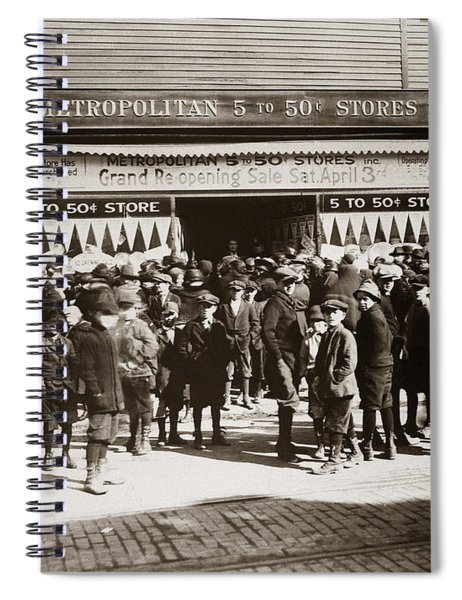 Scranton Pa Metropolitan 5 To 50 Cent Store Early 1900s Spiral Notebook