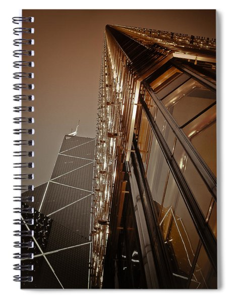 Scraping The Sky Spiral Notebook